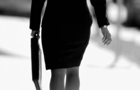 Professional styling female executive
