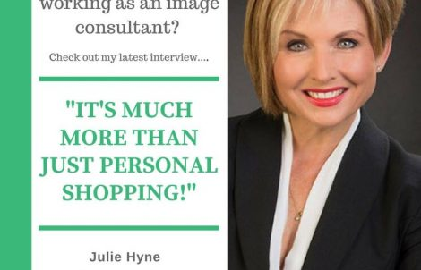 Julie Hyne and personal shopping