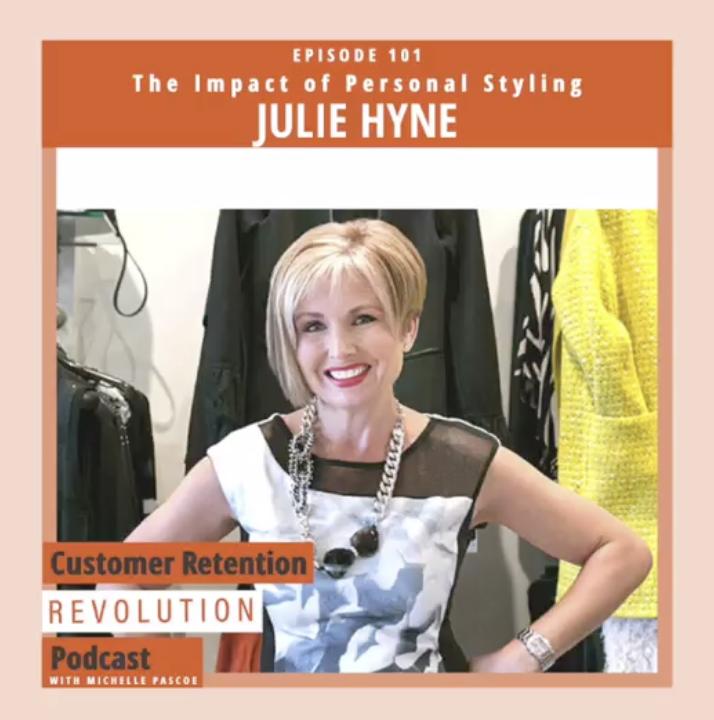 Julie Hyne talks to Michelle Pascoe